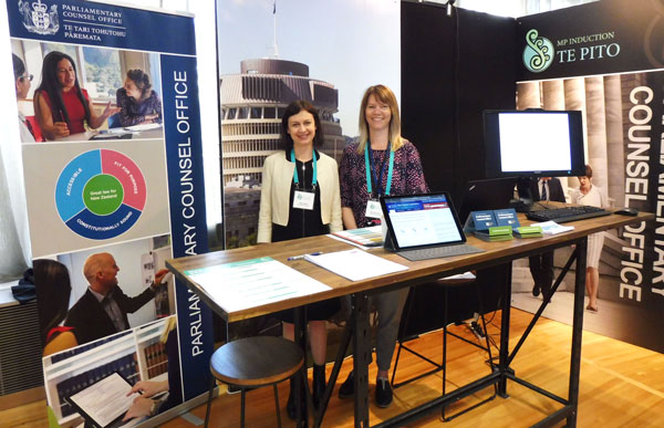 PCO booth at MPs induction